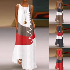 women dress, Cotton Dress, long dress, Vintage