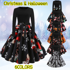 Fashion Accessory, Moda, Christmas, longsleeveddresse