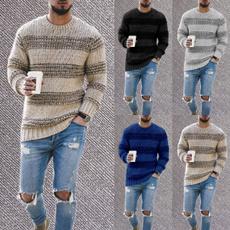 crewneck sweater, Plus Size, Invierno, Manga