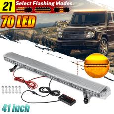 amber, lightbar, led, Waterproof