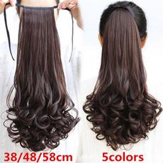 ponytailextension, wig, ponytailhair, Fashion