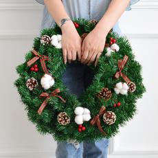 Door, Christmas, Garland, holidaydecoration