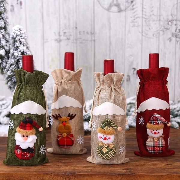 decoration, christmaspresent, Bags, wineclothe