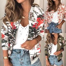 jacketforwomen, Fashion, printed, Sleeve