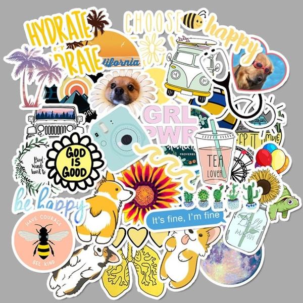 cute, Stickers, Blues, graffitisticker