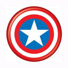 Superhero, avenger, button, Men