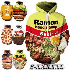 Couple Hoodies, 3D hoodies, Fashion, Food