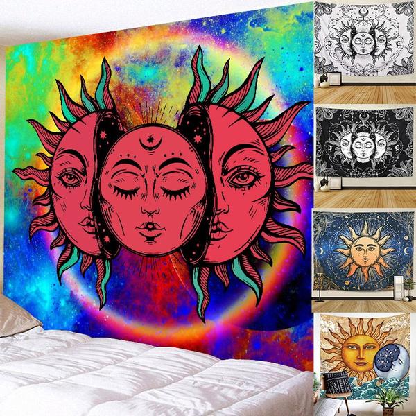 sunandmoon, hippie, Home & Living, beachshawl