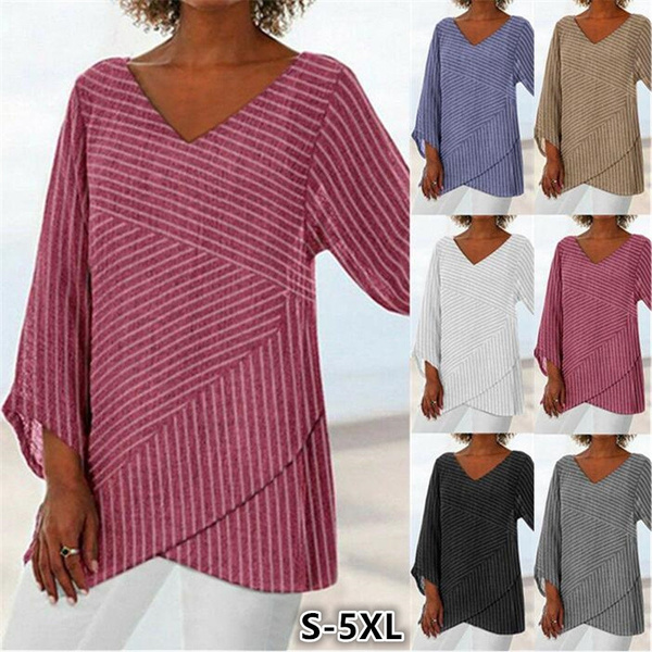 Plus Size, Sleeve, Women Blouse, Long Sleeve