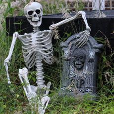 Skeleton, skull, fullsize, Horror