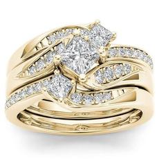 gold, yellowgolddiamondring, anniversaryringsset, Fashion Accessories