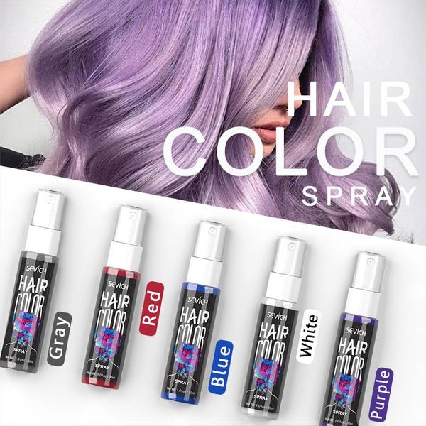 Sevich Temporary Spray Hair Dye Liquid Hair Dye Unisex Hair Color Dye Instant Color Dye Easy To Use Hair Styling Wish