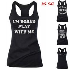 Women Vest, Vest, Plus Size, topsamptshirt