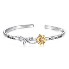 Sterling, czbracelet, 14kwhitegold, Jewelry