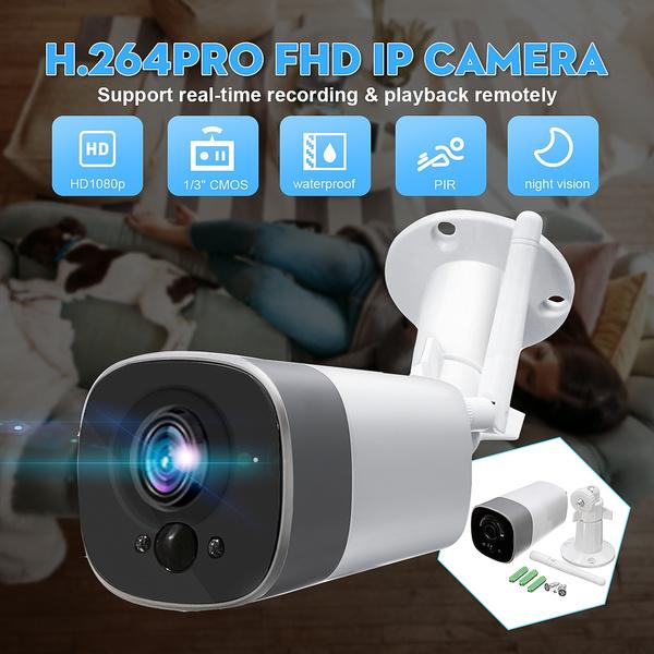 Wireless 1080P HD WIFI IP Network Camera CCTV Outdoor Security IR Night Vision
