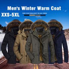 Plus Size, parkajacket, Winter, coatsampjacket