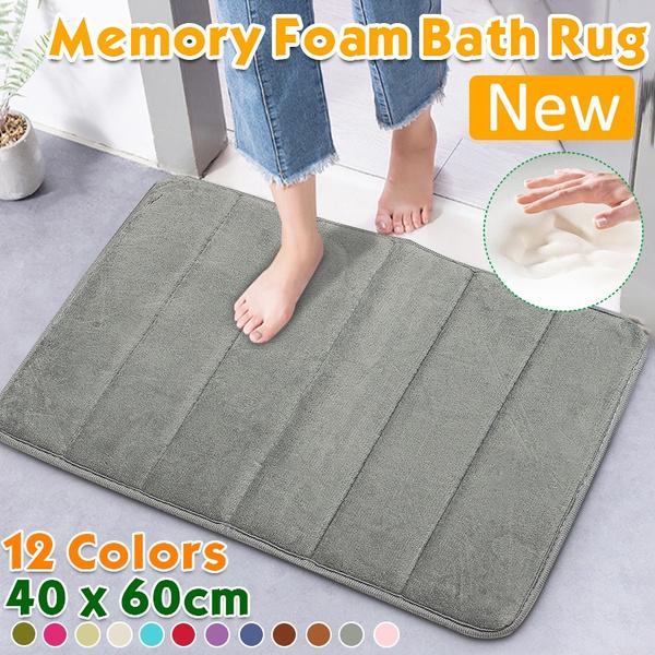 40 X 60cm Memory Foam Bath Mat Large