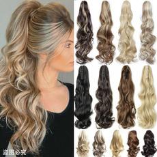 ponytailhair, Fashion, human hair, Hair Extensions
