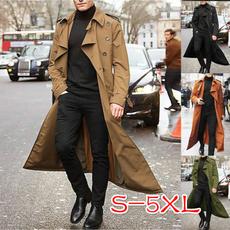casual coat, Plus Size, Winter, Long Coat