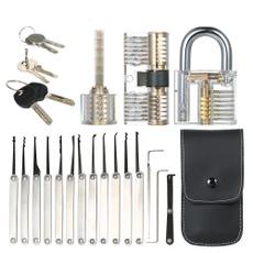 lockpicktool, padlocklock, Home & Living, locksmithtool