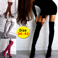 Shoes, Knee High Boots, High Heel Shoe, Womens Shoes