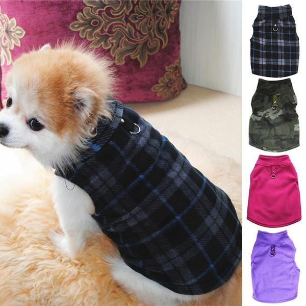 dogthickenedvest, Fleece, puppy, Pet Apparel