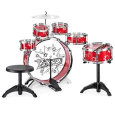 Toy, drum, instructment, drumset