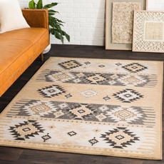 Copper, area rug, Rugs, Aztec