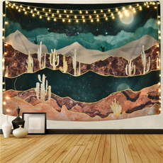 Mountain, bedroom, psychedelictapestry, tapestrywallhanging