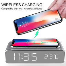 wirelesschargerclock, leddisplayclock, Home Supplies, Smartphones