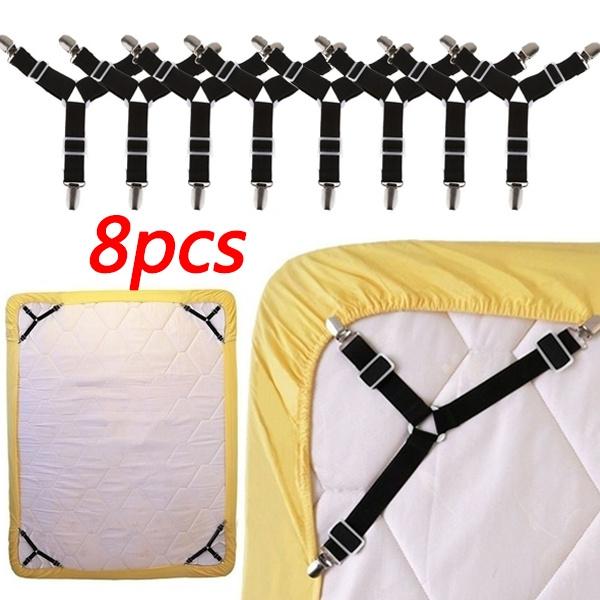 suspenders, Triangles, grippersclipholder, bedsampmattresse