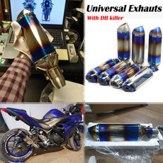 exhaustpipesilencer, Motorcycle, removablemuffler