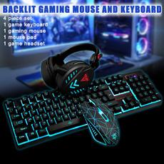 gamingkeyboard, gamingheadset, Waterproof, Keyboards