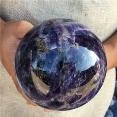 quartz, Natural, sphere, Crystal