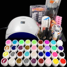 beginnerssuit, art, nailarttoolset, UV Gel Nail