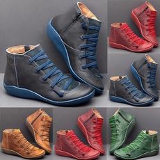 Vintage, Handmade, Boots, womenshortboot