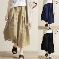 elastic waist, Waist, Casual pants, Bottom
