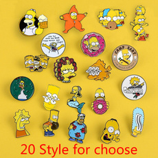 Funny, Gifts, simpsonspin, lapelpin