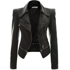 Jacket, Plus Size, leather, Coat