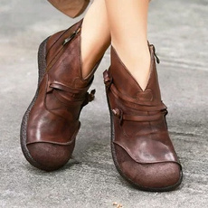 ankle boots, vintageboot, Womens Boots, Leather Boots