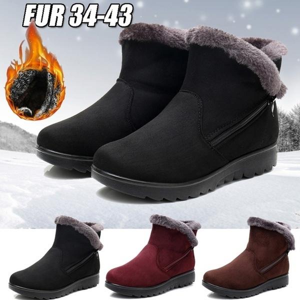 ZpenYou New Women Winter Boots Women\u0027s Fashion Shoes Waterproof Ankle Boots  Women Rain Warm Fur Footwear