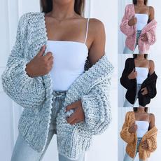 Fashion, sweater coat, Long Sleeve, winterwarmcoat