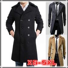 woolen coat, Fashion, Coat, longsectioncoat