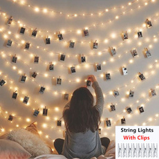 Photo Frame, Decor, lights, led