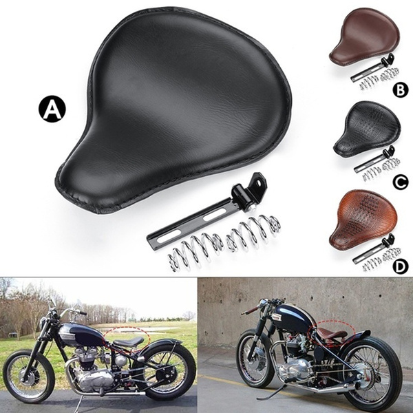 Bracket Seat Motorcycle For Harley Driver Spring Cushion Bobber Solo Chopper