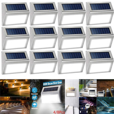 Steel, solarsteplight, solarstairlamp, Outdoor