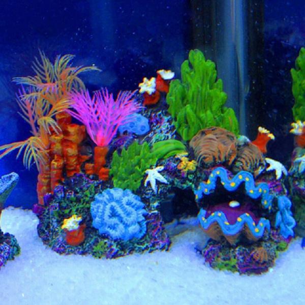 aquariumsaccessory, Mountain, resincoralreef, Tank