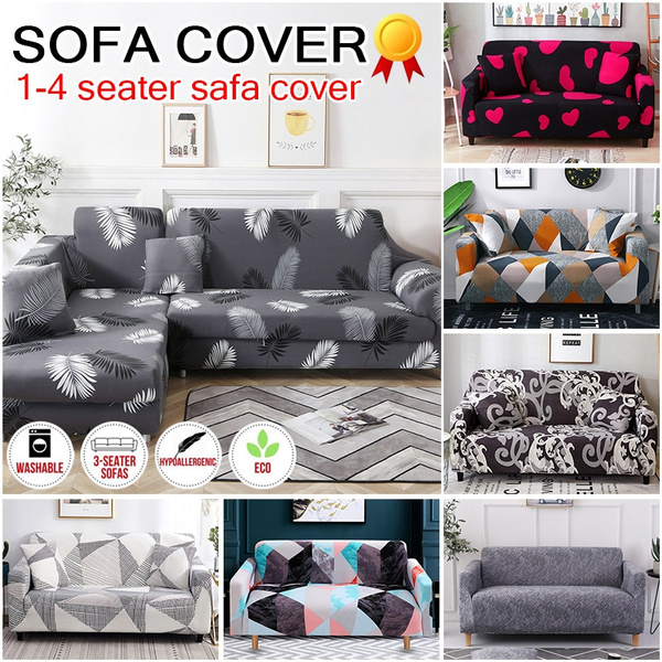 Miraculous 1 2 3 4 Seaters Sofabezug Feathers Leaf Tropical Plant Flower Sofa Cover Cotton Elastic Sofa Slipcovers Corner Sofa Towel Couch Cover Sofa Covers For Caraccident5 Cool Chair Designs And Ideas Caraccident5Info