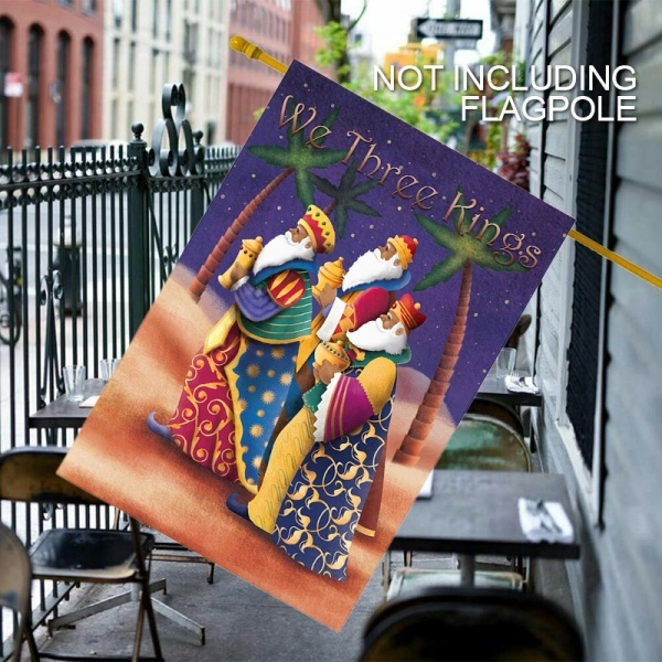 Three Kings Colorful Wise Men Christmas