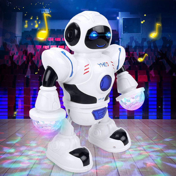 3* Toys For Boys Kids Music Dancing Robot for 3 4 5 6 7 8 9 10 11 Years Age Gift
